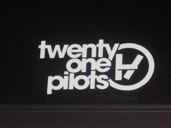 Twenty One Pilots Music Band Vinyl Decal By