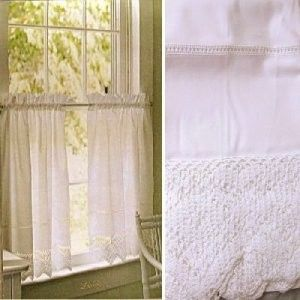 Pin By Amy On My She Shed Curtains White Cafe