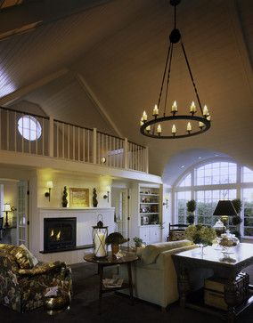 A Dream Cottage Traditional Spaces Burlington Truexcullins Architecture Interior Design Loft Railing Cottage Interiors Loft Design