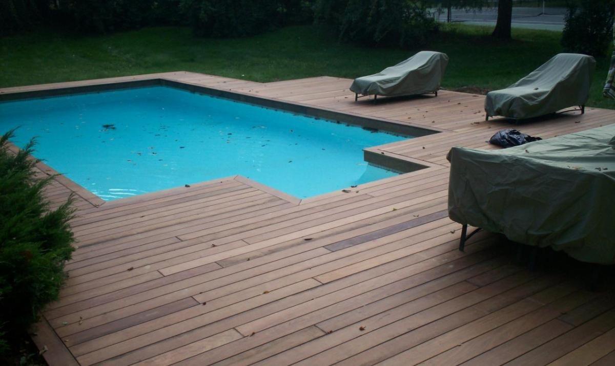 Ipe Wood Pool Deck Wooden Thing Wood Pool Deck Wooden Pool