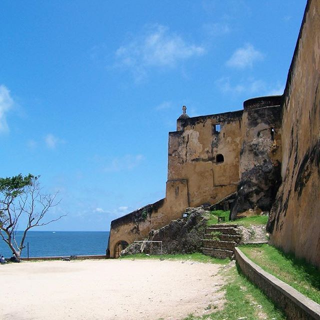 Fort Jesus (Portuguese: Forte Jesus de Mombaça) is a Portuguese fort located on Mombasa Island. It was built between 1593 and 1596, by order of King Philip I of Portugal, to guard the Old Port of Mombasa, Kenya. It was built in the shape of a man (viewed from the air), and was given the name of Jesus. In 2011, the fort was declared a World Heritage Site by UNESCO and highlighted as one of the most outstanding and well-preserved examples of 16th-century Portuguese military fortifications…