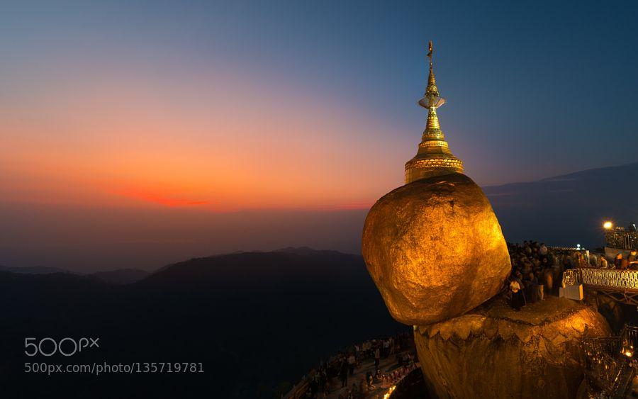 Popular on 500px : Golden Rock of Myanmar by NattaponSritrairat