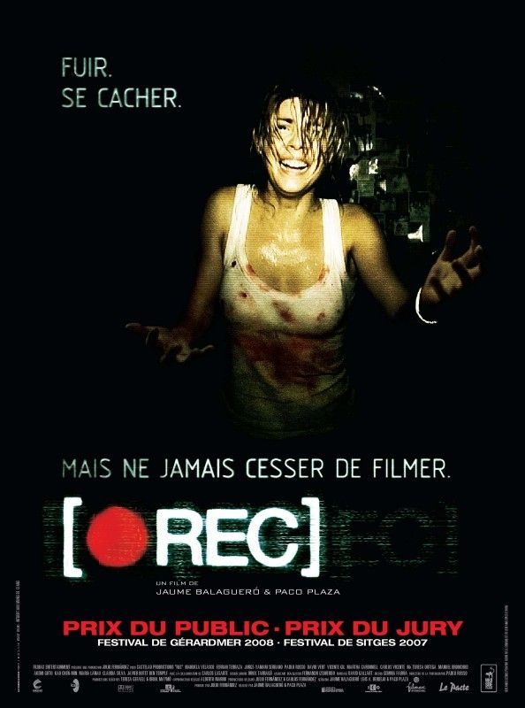 [Rec] - Spanish zombie flick, from 1st person POV. They did a great job with the camera work, which effectively pulls you into the film, but avoids the Blair Witch issue of being nauseating.