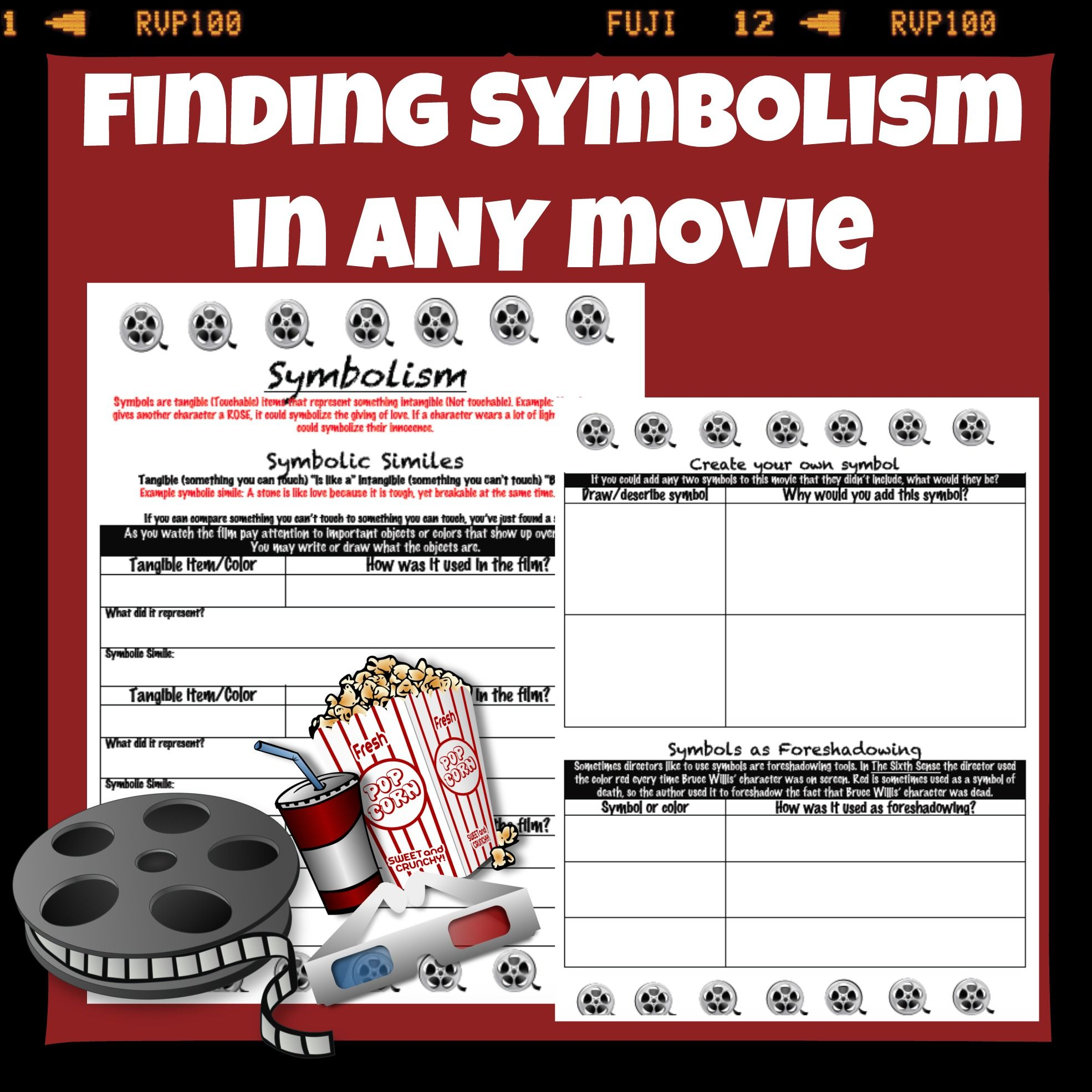 Finding symbolism in any movie middle school english teaching finding symbolism in any movie biocorpaavc Images