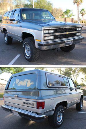 Lmc Truck Chevy >> Diego Hernandez S 1991 Chevy K5 Blazer Like A Rock Chevy Gmc
