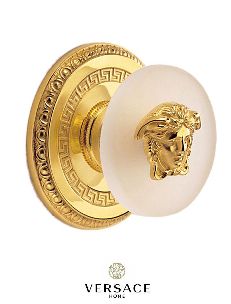 Versace Door Knob.  sc 1 st  Pinterest & Versace Door Knob. | interior | Pinterest | Door knobs Versace and ...