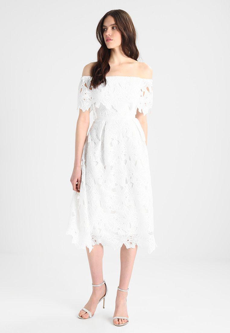 CORDED BARDOT PROM MIDI DRESS - Cocktailkleid/festliches Kleid ...