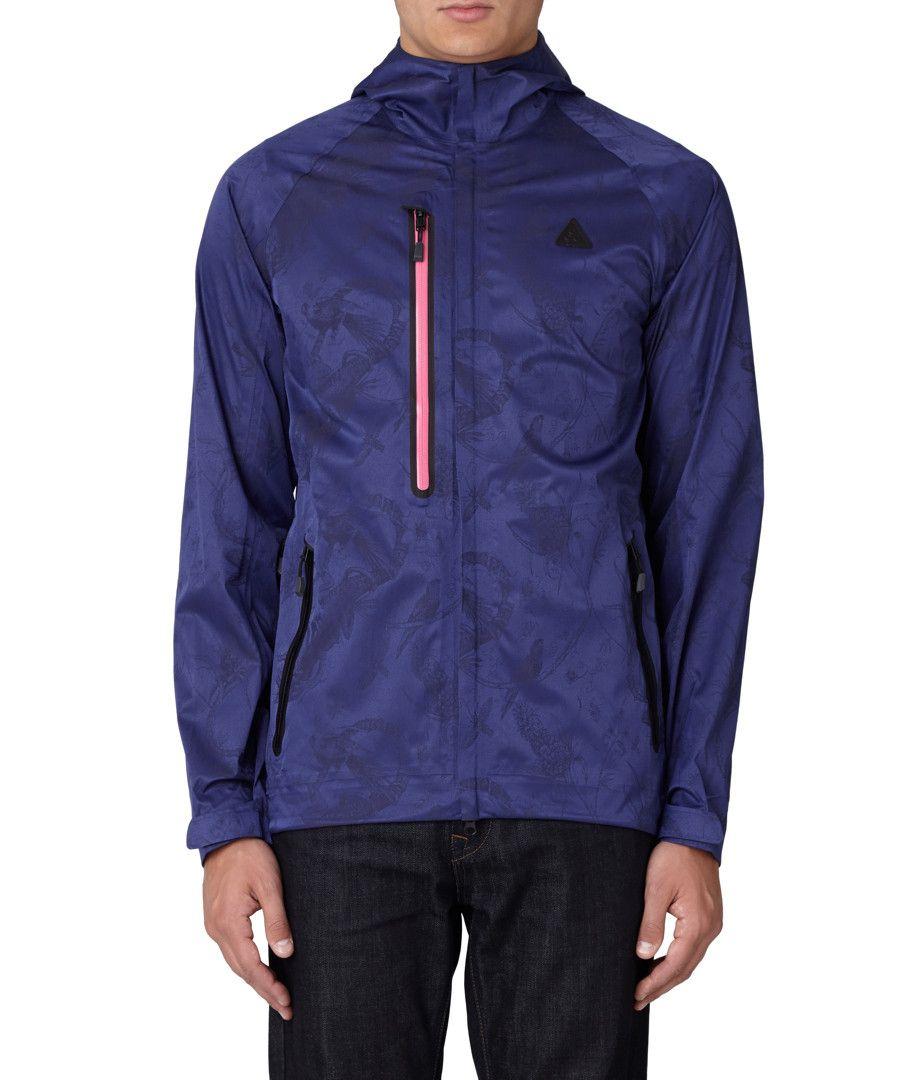 24f1d3c6fc49 Nike XTB Vertical Shell purple hooded jacket