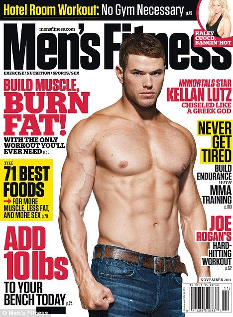 d19dda350 The Twilight actor, seen here posing shirtless on the cover of the U.S.  Men's Fitness