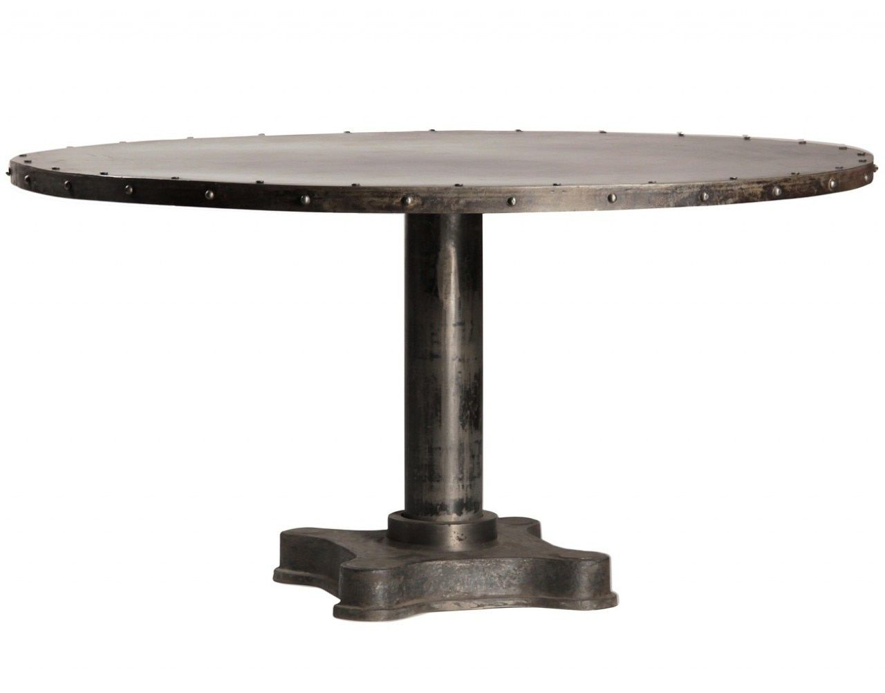 50 Industrial Round Dining Table Modern Used Furniture Check