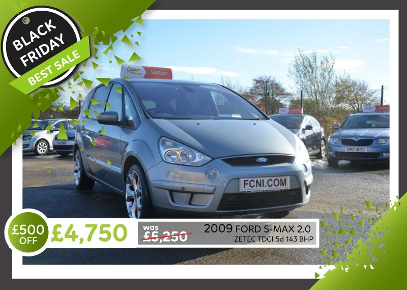 2009 Ford S Max 2 0 Zetec Tdci Has Been Reduced In Price For Our Black Friday Sale Mon 19th Till Sat 24th Nov Www Familyca Family Car Cars For Sale Used Cars