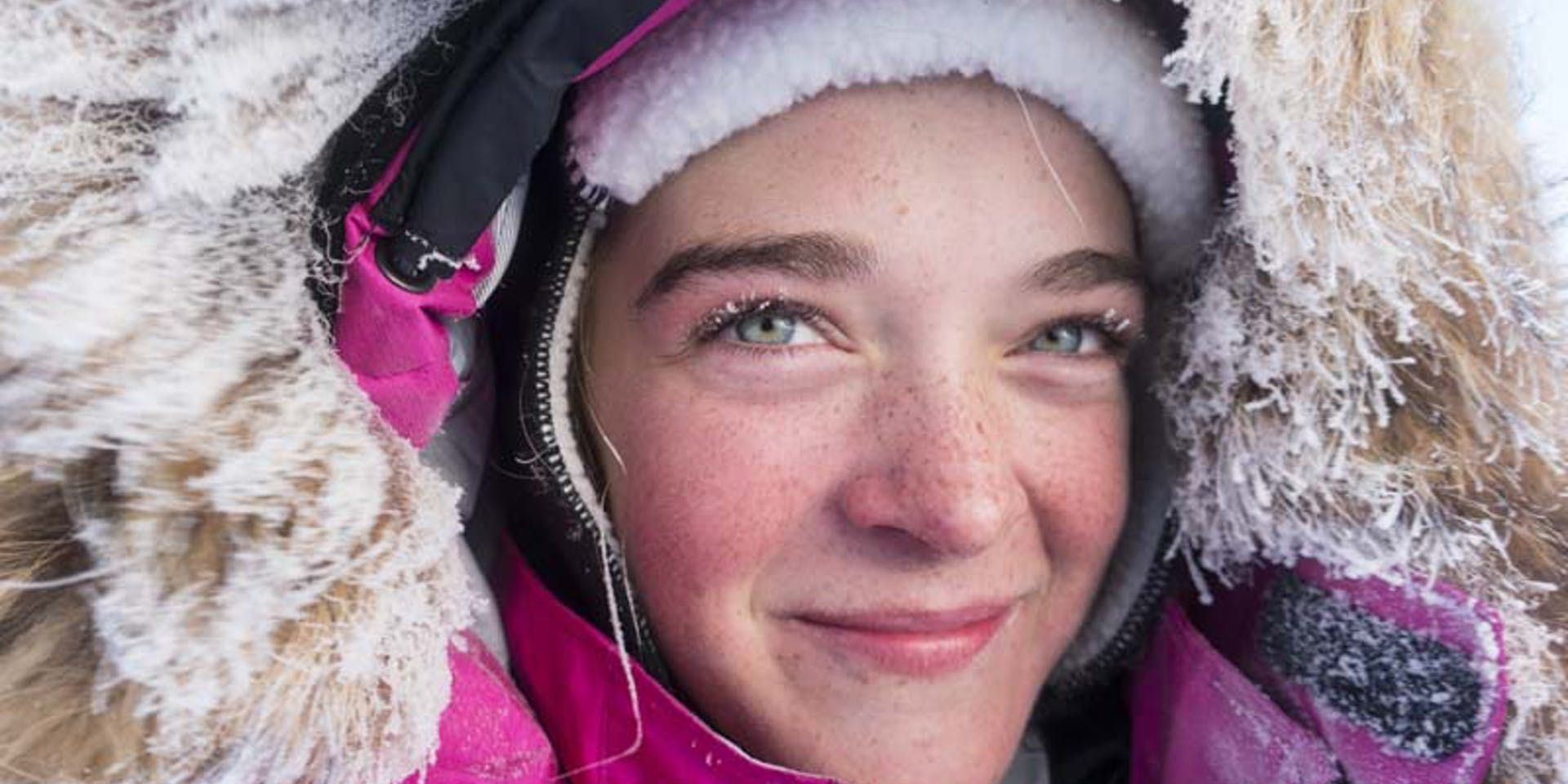 Meet Jade The Youngest Girl To Ski To The North Pole North Pole Skiing Style