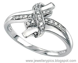 White gold Rings - Latest Jewellery Designs