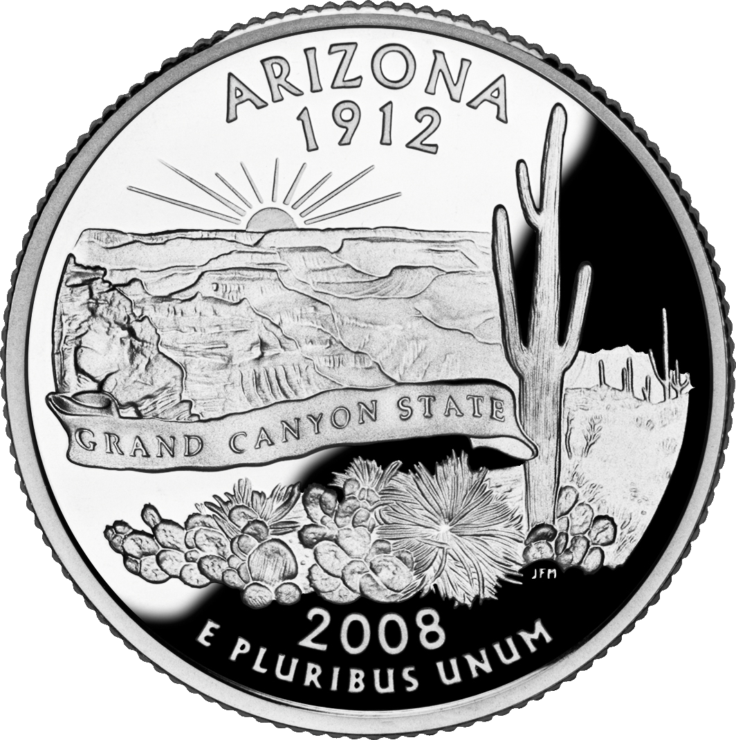 State Coins Arizona State Quarter 50 State Quarters State Quarters