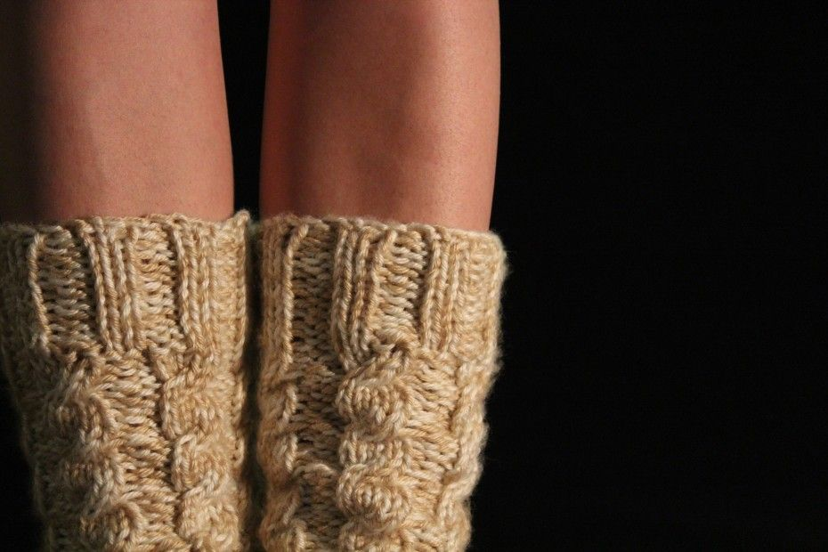 Chunky Cabled Legwarmersboot Socks Free Knitting Pattern