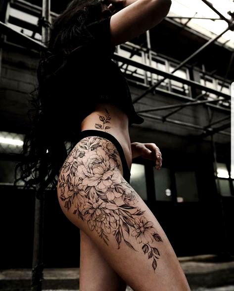 Best tattoo frauen oberschenkel seite Ideas | tattoo