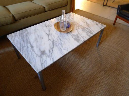 Brazilian Rosewood And Black Granite Coffee Table 1 Granit