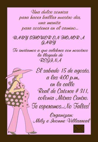 Frases Para Invitaciones De Baby Shower Originales : frases, invitaciones, shower, originales, Invitacion, Frases, Invitaciones,, Shower, Recuerdos