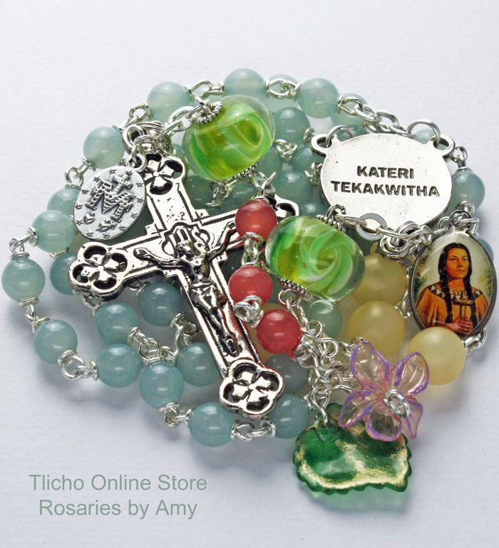 "St. Kateri Tekakwitha ""Tranquility"" 178C. $84. www.tlicho.ca"