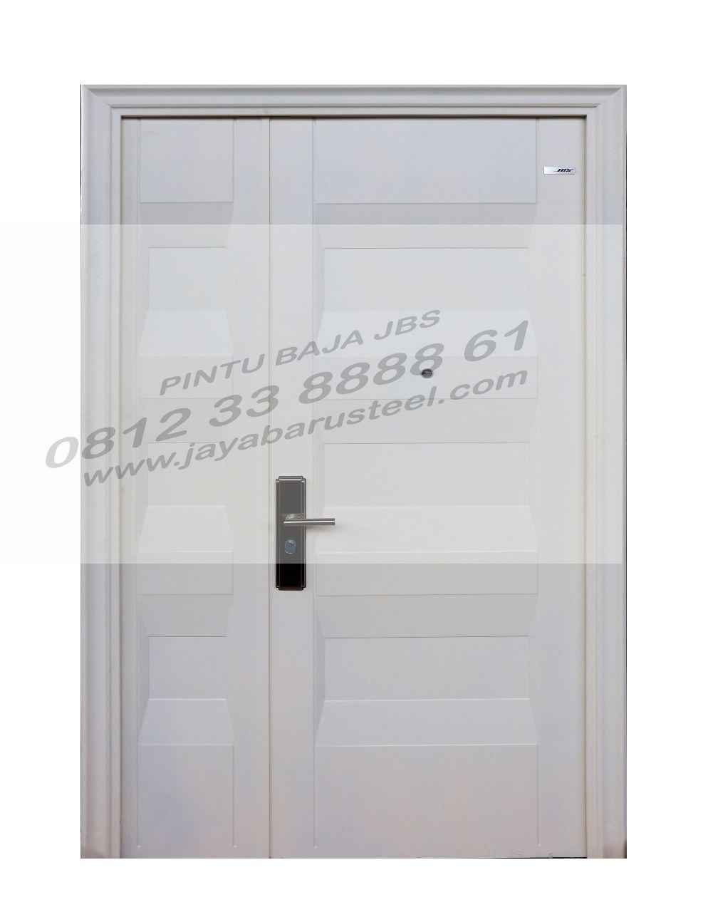 Desain Pintu Depan Rumah 2 Pintu Minimalis