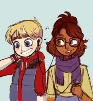 Que pasaría si los hijos de Marinette y Adrien viajaran al