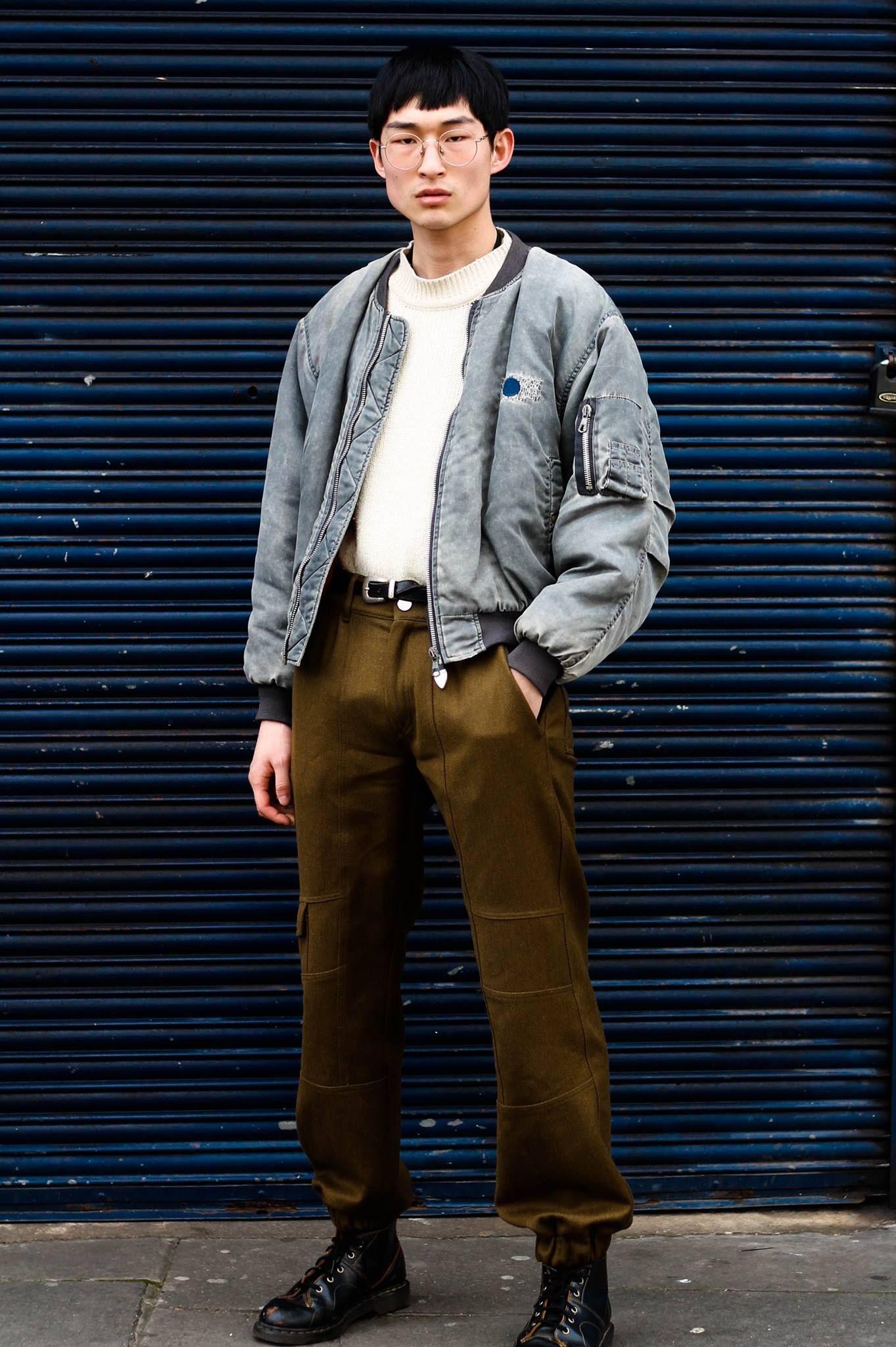 90s Anime Fashion Street Wear