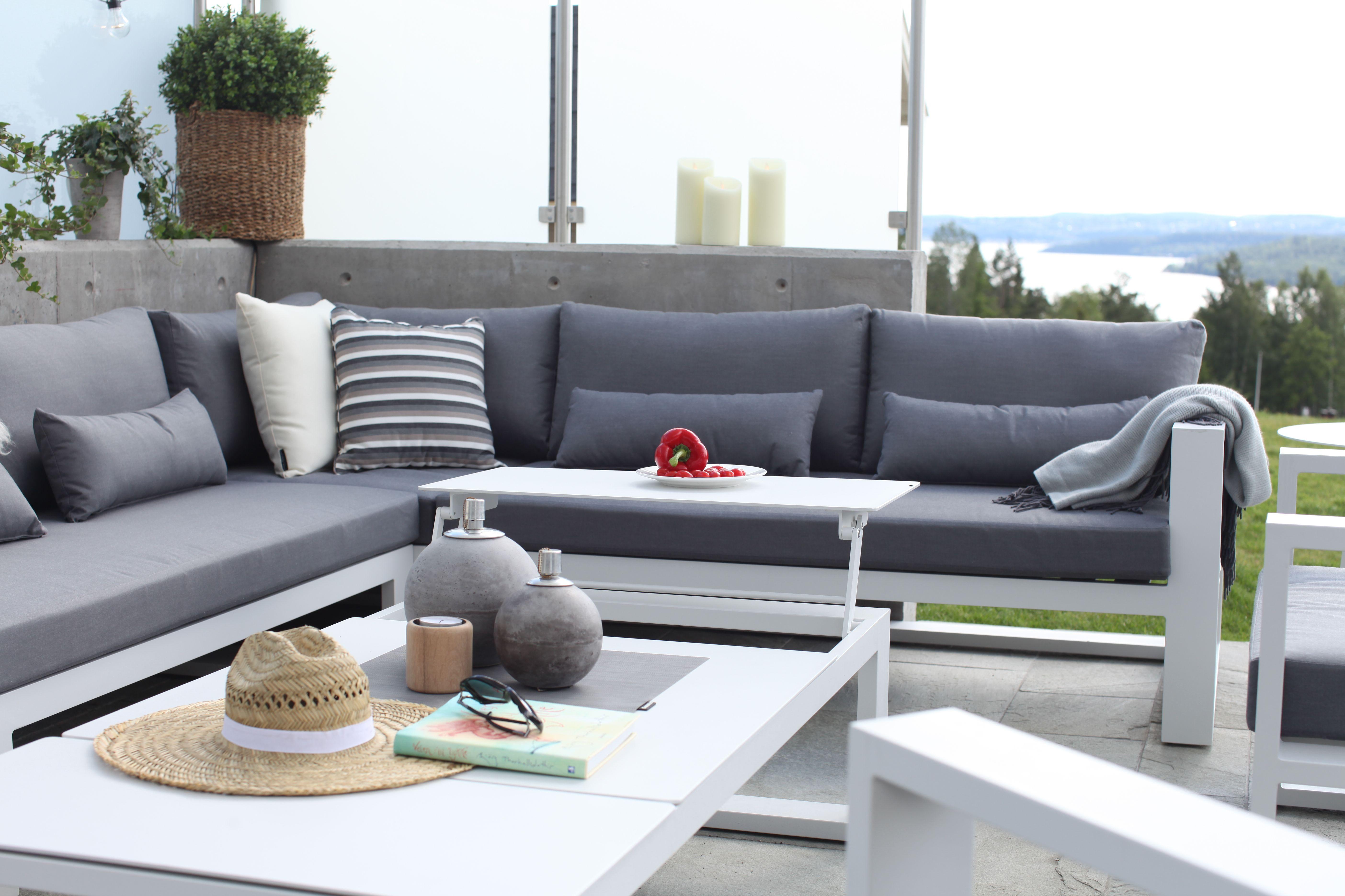 Oppdatert Moderne hagemøbler 2018. Leveres også i sort aluminium. | Fine VL-24
