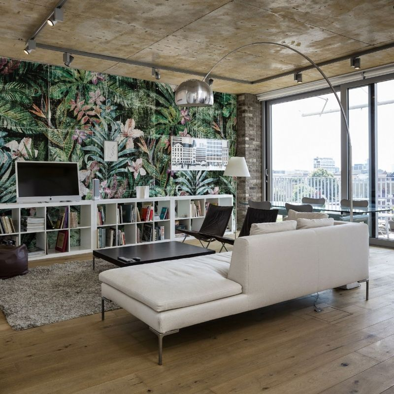 Jungle wallcovering by behangfabriek