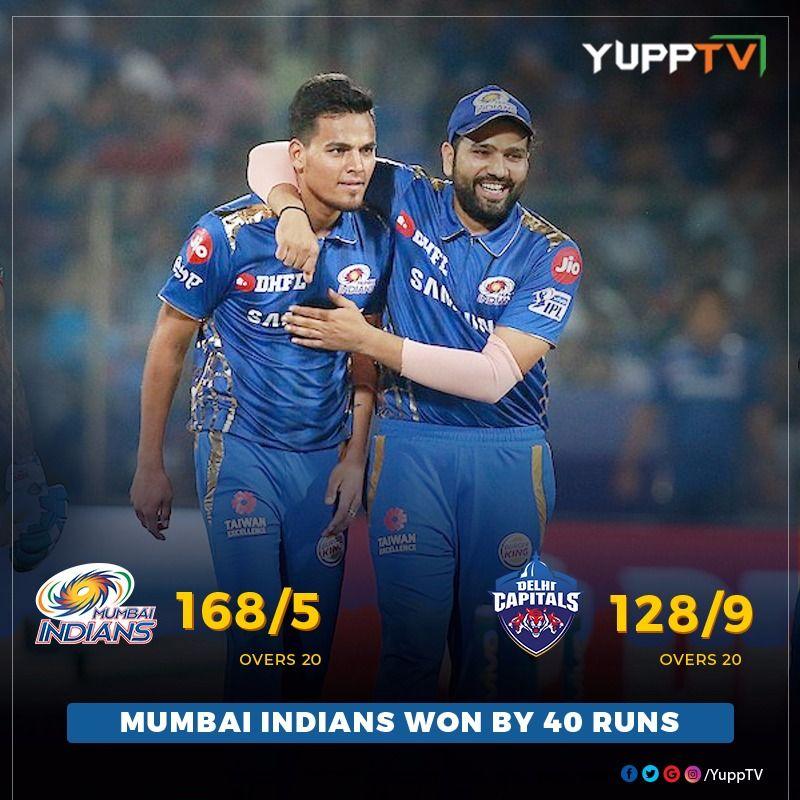 A Jubilant Innings By Hardik Pandya Leads Mumbai Indians An Amazing Win Over Delhi Capitals Congratulations Mi Are Now O Southeast Asia Ipl Mumbai Indians