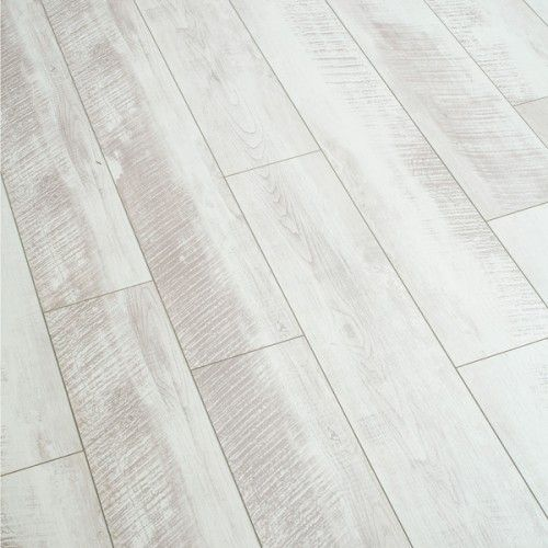 Balento Vintage Whitewashed Oak 10mm Laminate Flooring White Wash Laminate Flooring Wood Laminate Flooring Flooring