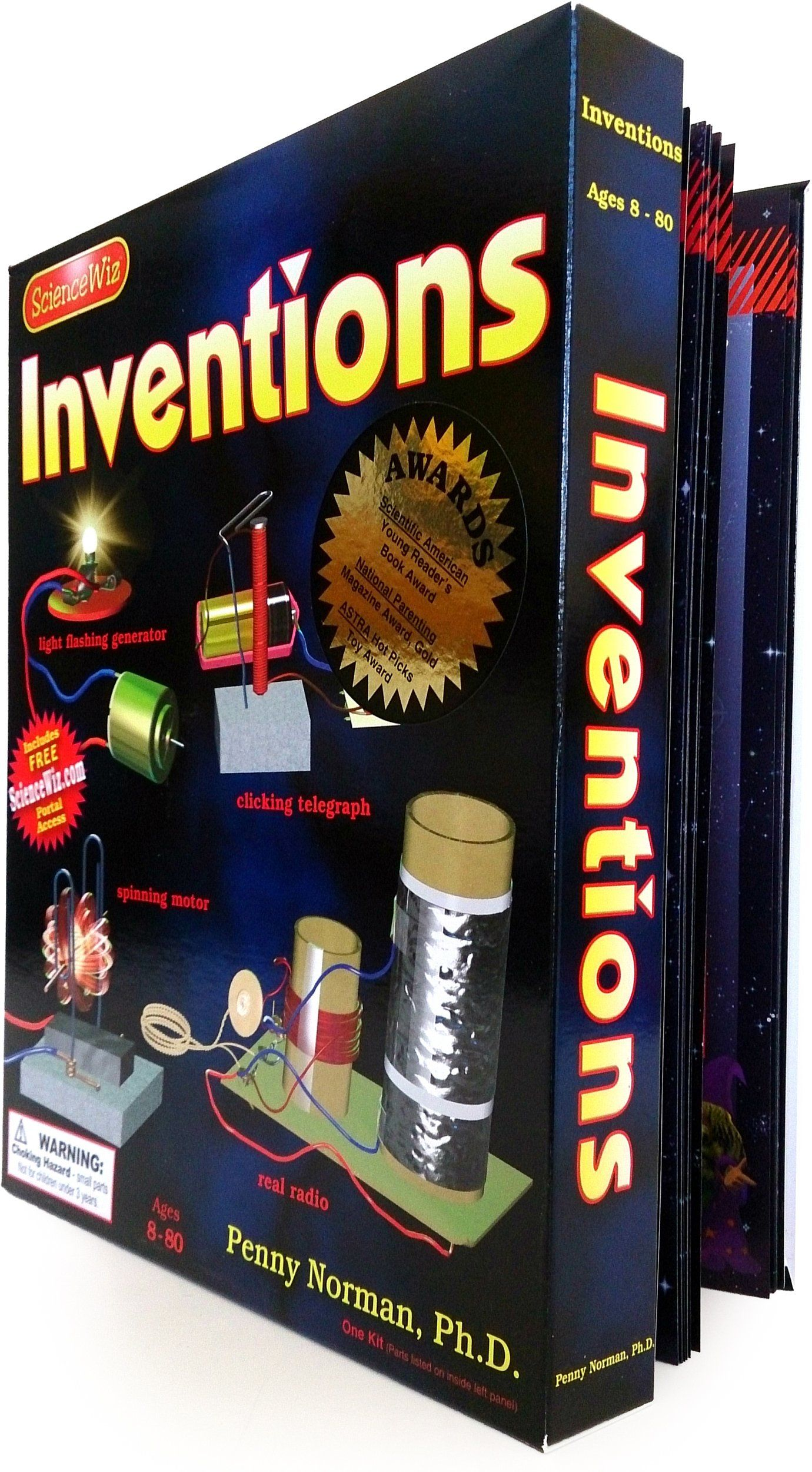 ScienceWiz / Inventions Kit- Build a motor, a telegraph, a