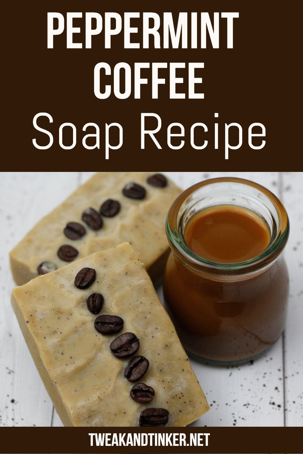 Peppermint Coffee Cold Process Soap In 2020 Cold Process Soap Recipes Coffee Soap Recipe Homemade Soap Recipes