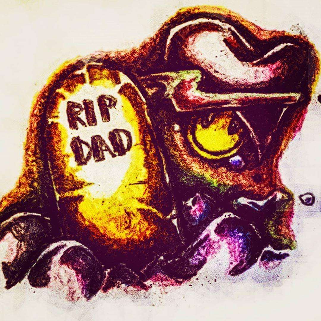 Rest in peace dad 🙏 #art #vibing #family #tattooart # ...