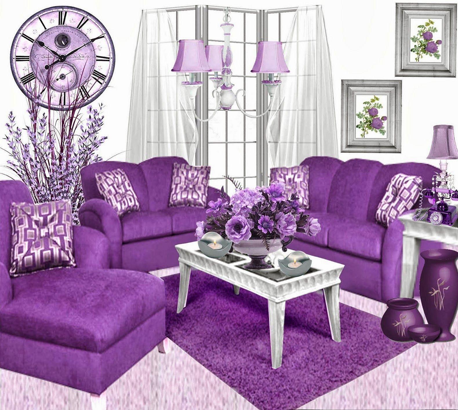 Epic 25 Amazing Purple Furniture Ideas For A Mysterious Room Https Freshouz Com 25 Amazing Purple Furniture I Purple Living Room Purple Furniture Purple Home