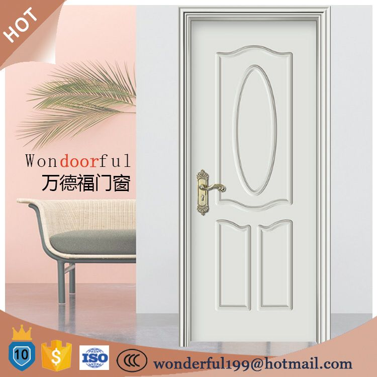 Water Proof Solid Wood 24 X 80 Exterior Door Picture Window And