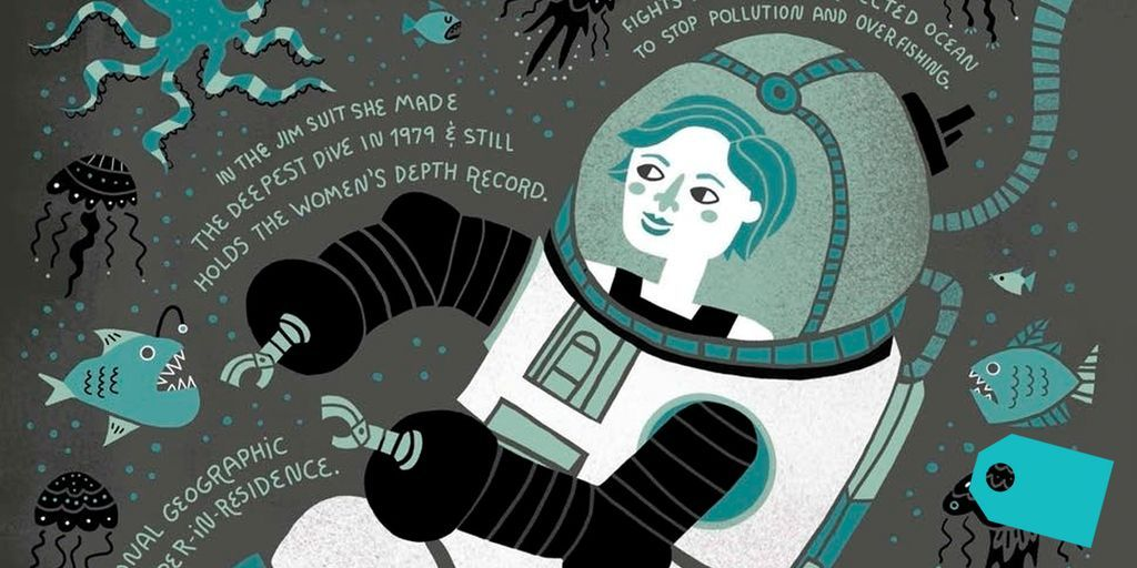This graphic novel shares the badassery of women in