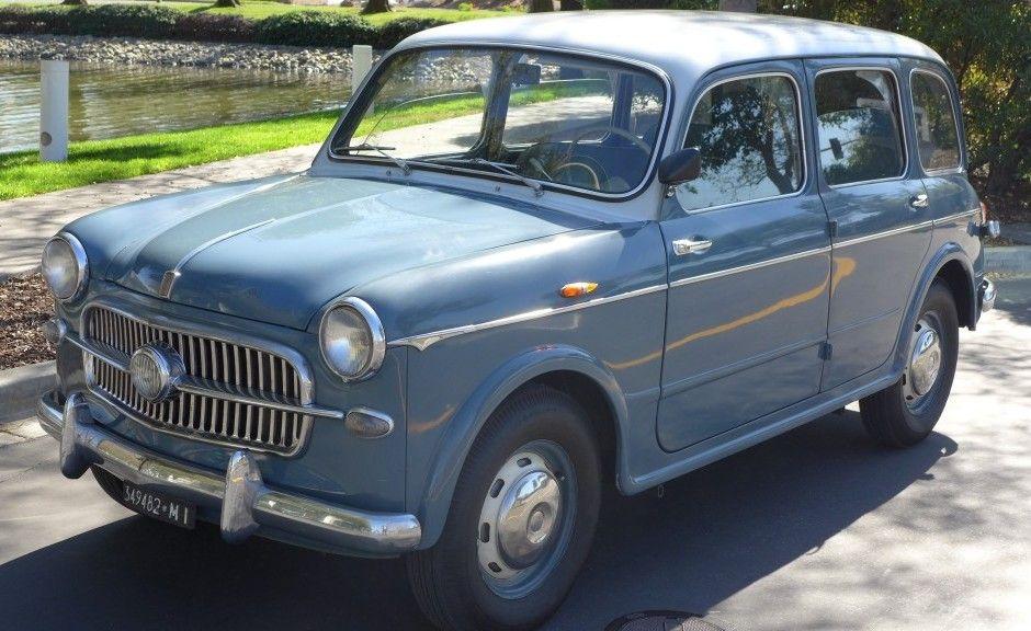 1957 Fiat 1100 103e Belvedere Tv Automobile