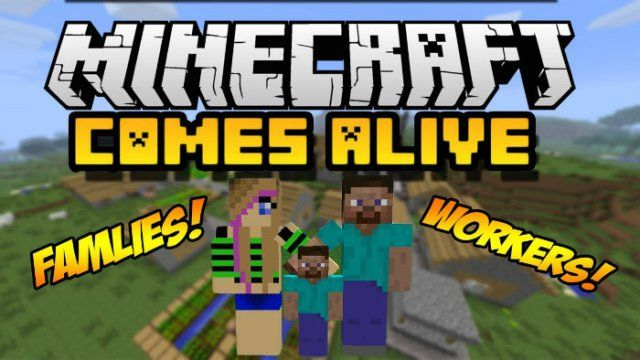 Minecraft Comes Alive Mod for Minecraft 1.8.9/1.8/1.7.10