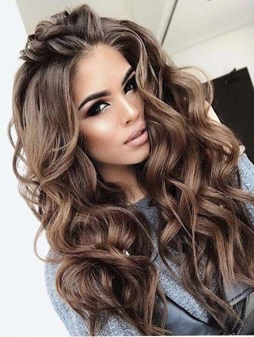 Tonos De Cabello Para Morenas Que Color De Cabello Me Queda Si Soy Morenita Colores De Cabello Para Piel Media Hair Styles Long Hair Styles Curly Hair Styles