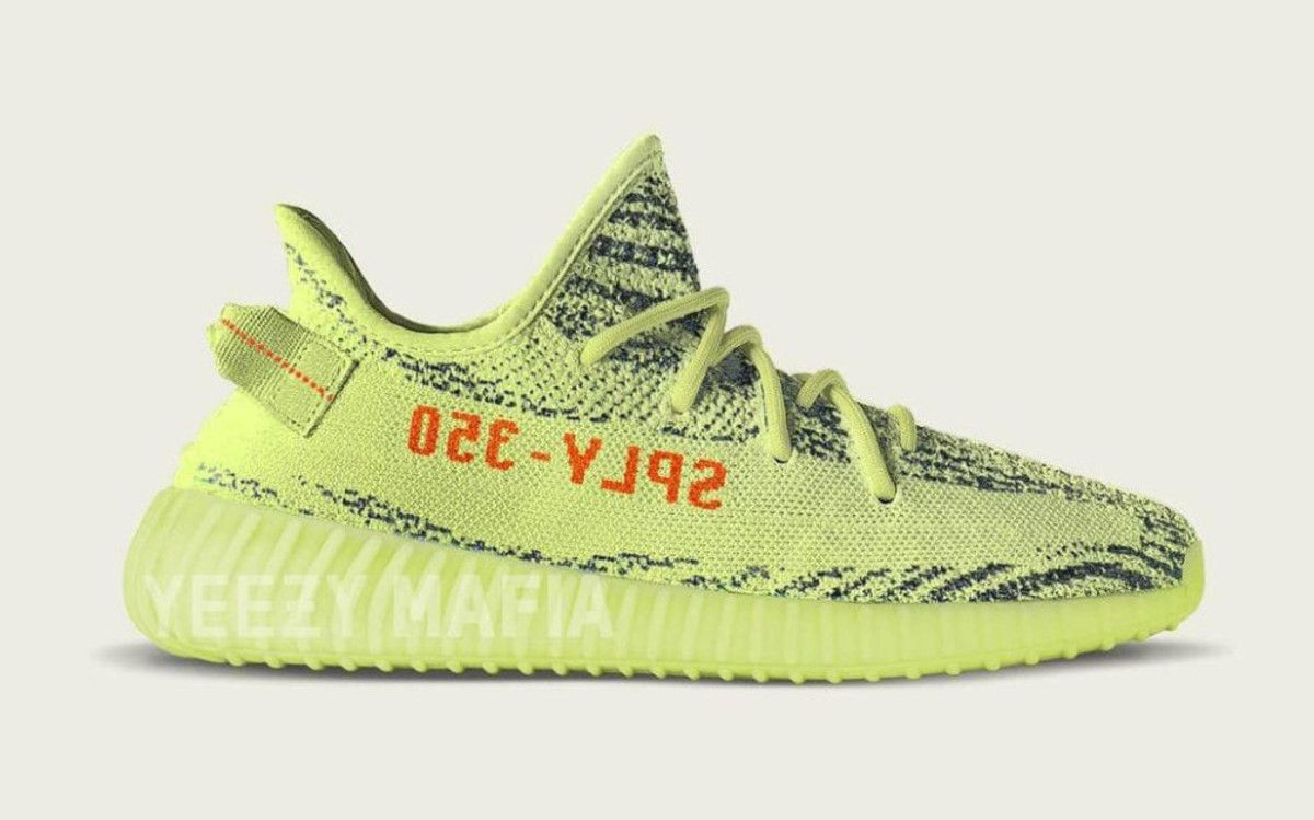 save off ee7f6 cc8ad The adidas YEEZY BOOST 350 V2 Semi Frozen Yellow Launches in December