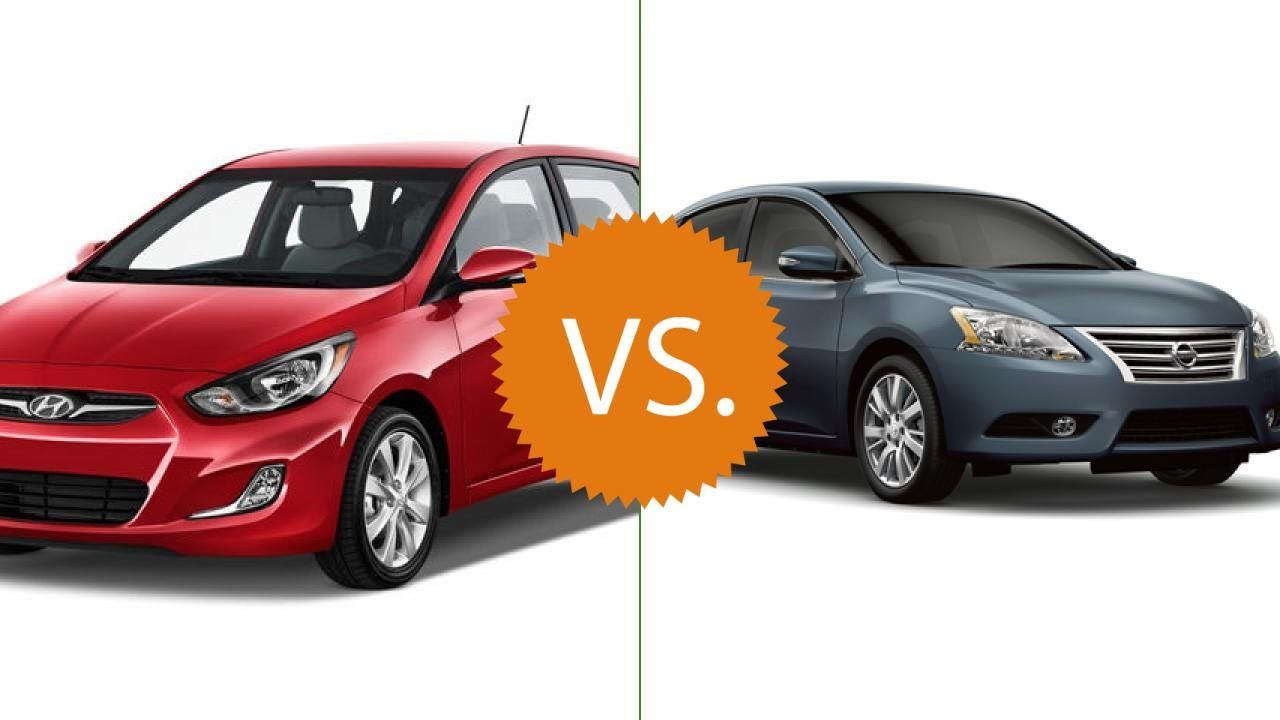 Compare 2016 Hyundai Accent Vs Nissan Sentra Scion