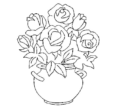 Disegnare Vasi Di Fiori Cerca Con Google Pagine Da Colorare