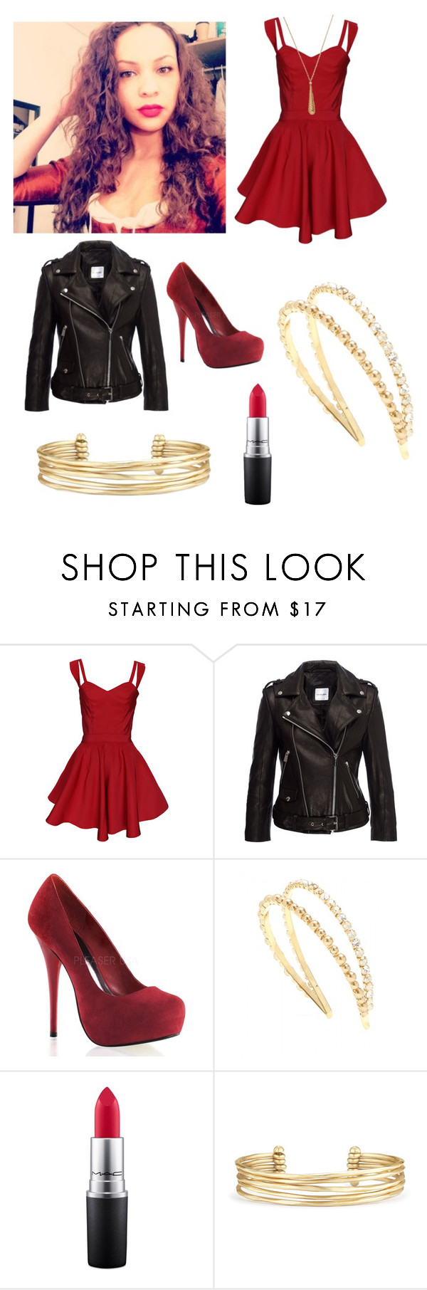 """That's When Miss Maria Reynolds Walked Into My Life"" by hnhdeo ❤ liked on Polyvore featuring Funlayo Deri, Anine Bing, Miu Miu, MAC Cosmetics, Stella & Dot and Gucci"