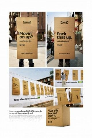 Moving Day Wild Postings Ikea Leo Burnett Pd
