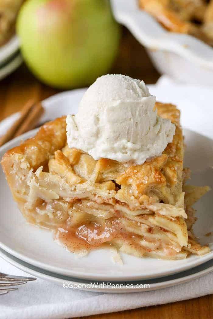 Homemade Apple Pie Recipe {Easy Recipe} - Spend Wi