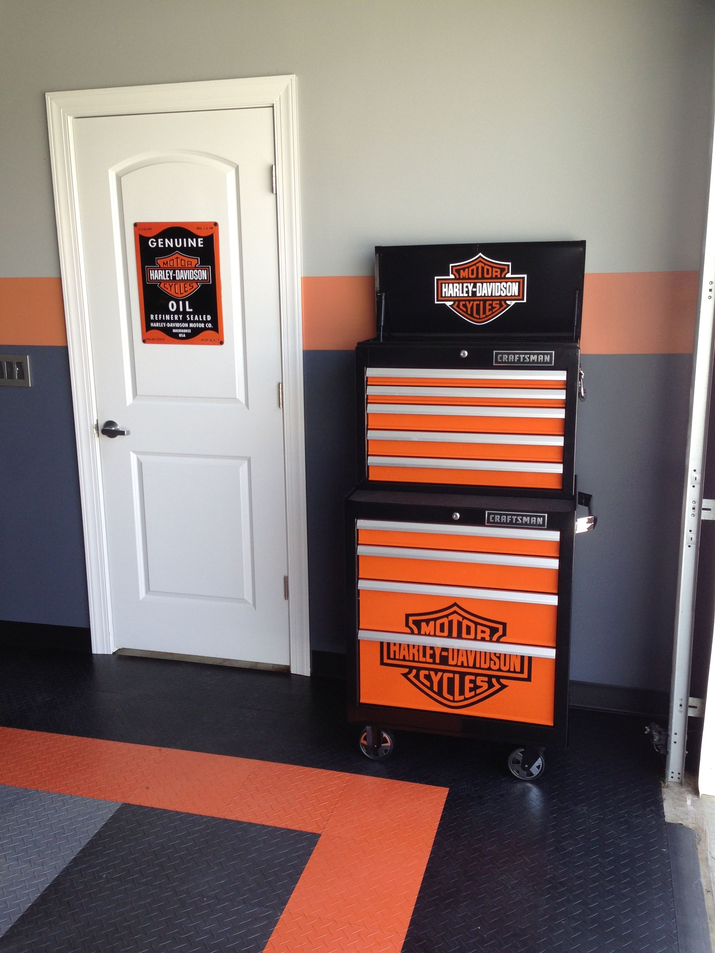 Harley Davidson Craftsman Tool Box Perfect For The Harley