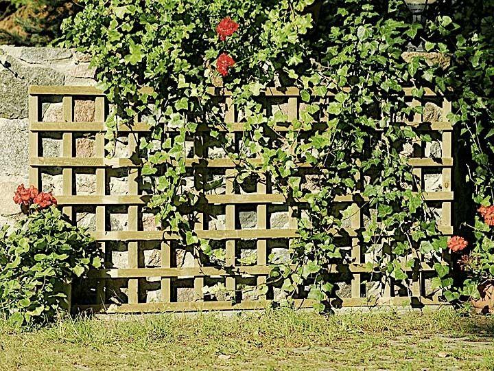 Prosta Kratka Z Drewna Pod Pnacza Outdoor Outdoor Structures Garden