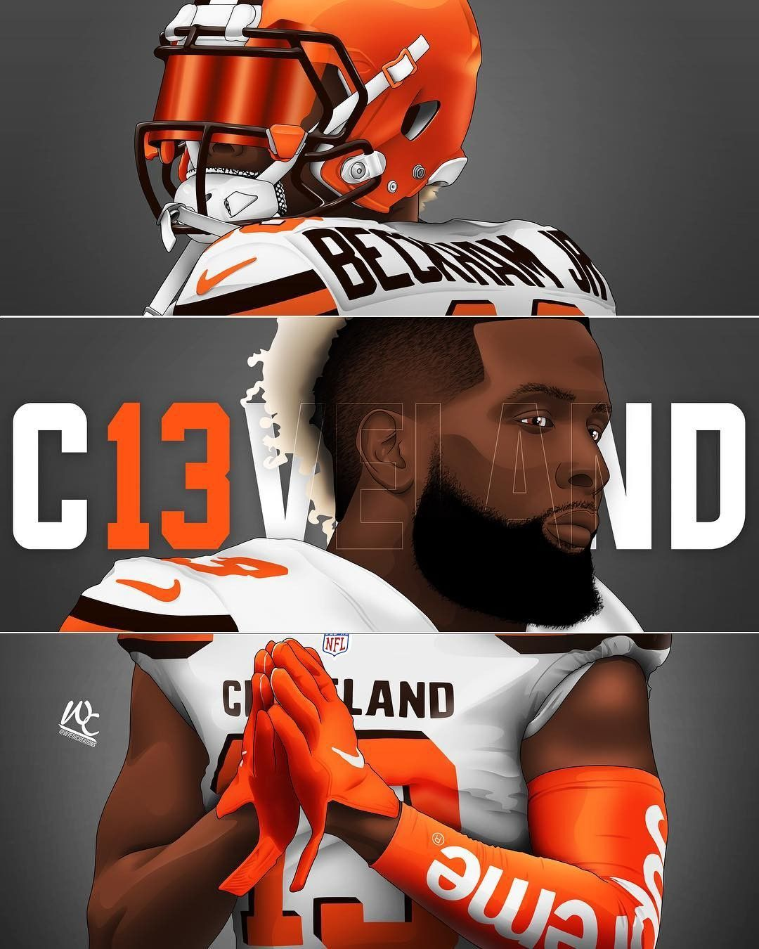 Pin By Nick Kensler On Sports Graphic Design Beckham Football Nfl Football Players Nfl Football Pictures