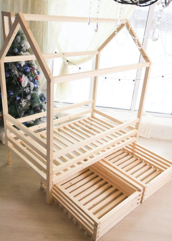 how to build a baby bed frame
