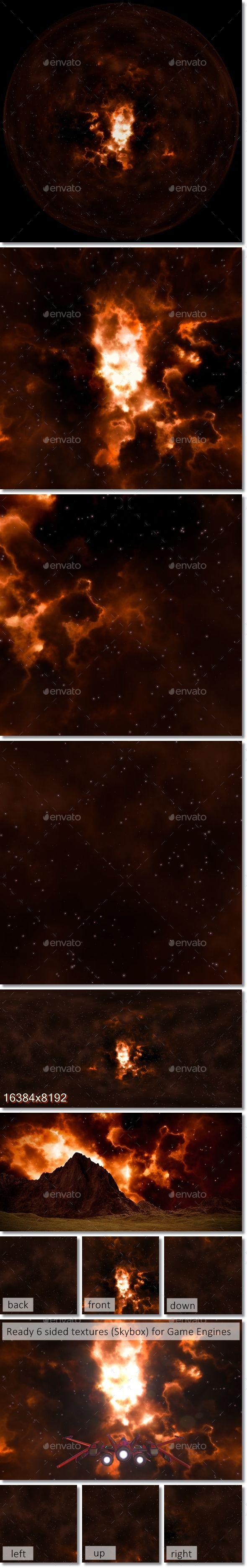 Nebula Space Environment HDRI Map 001 #Environment, #Space, #Nebula